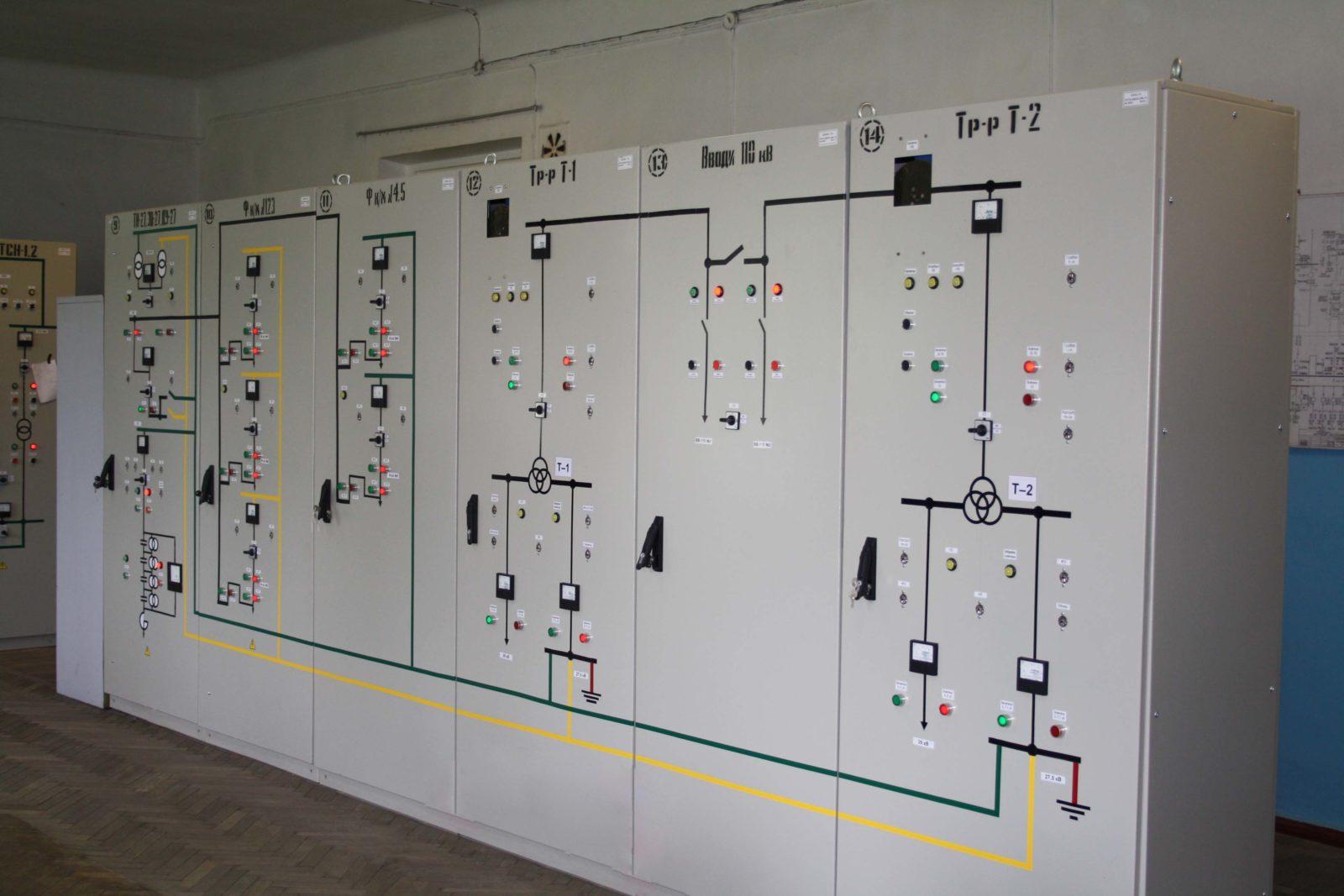 Серия шкафов релейной защиты и автоматики ШУАЗ-110