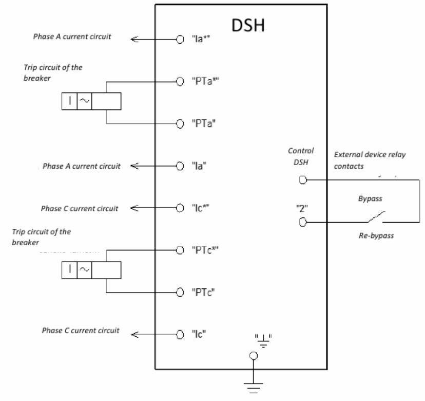 connection diagram DSH AIAR. 468243.002