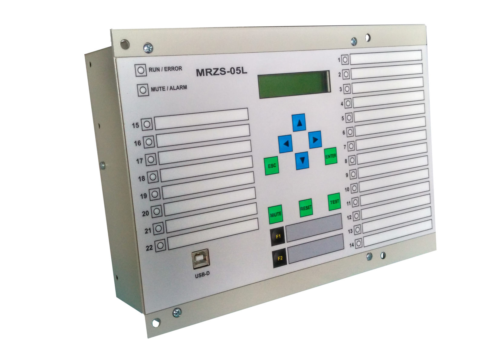 Central annunciator units